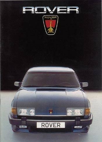 1985 rover 3500 Vitesse sd1