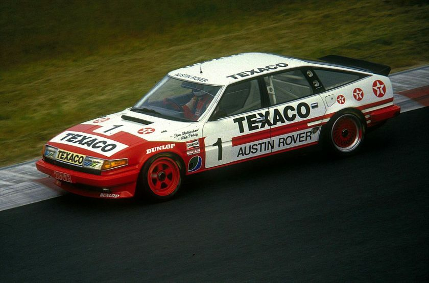 1985 Rover SD1 Vitesse at the Nürburgring, 1985