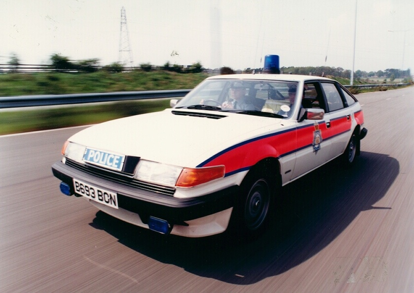 1985 West Midlands Police Rover SD 1 Traffic Car c.1985