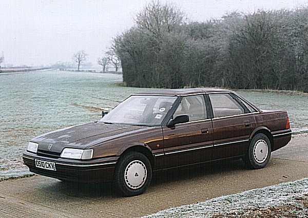1986 Rover 820Si (pre-R17 facelift)