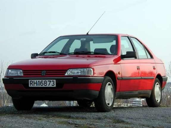 1987 Peugeot 405 front