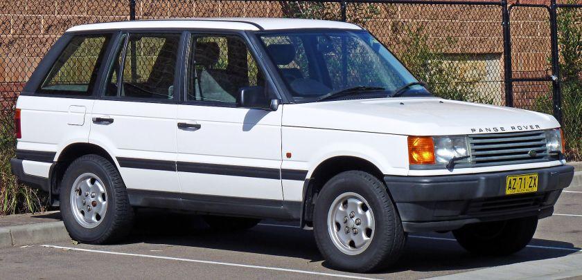 1995-98 Land Rover Range Rover (P38A) 4.0 SE wagon