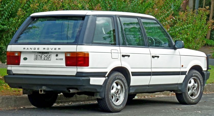 1995-98 Range Rover 4.6 HSE rear