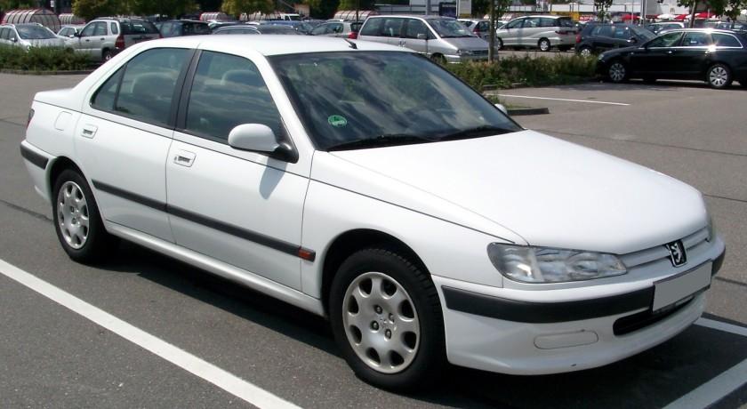 1995 Peugeot 406 front