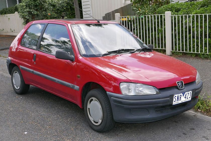 1997 Peugeot 106 1.1 3-door hatchback