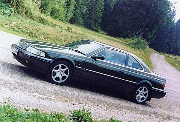 1997 Rover Vitesse Coupé (post-R17 facelift) 800 02