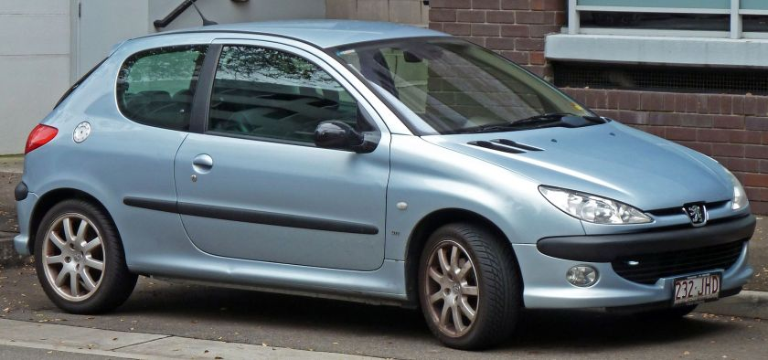1999 Peugeot 206 (T1) GTi 3-door hatchback