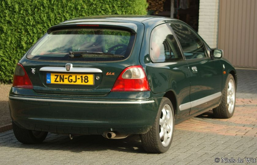 1999 Rover 200 BRM (rear)