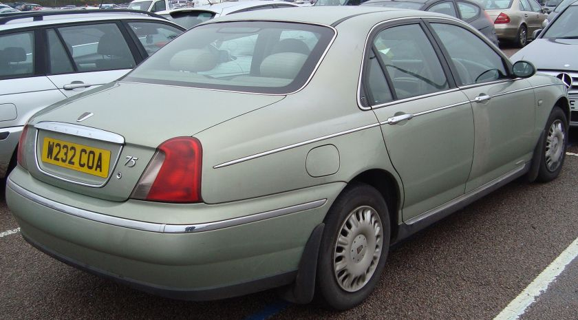 2000 Rover 75 2.0 CDT Classic (1999-03)