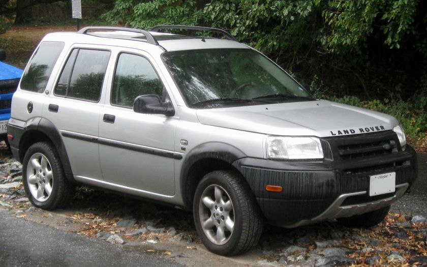 2001-03 Land Rover Freelander SE 4-door (US)