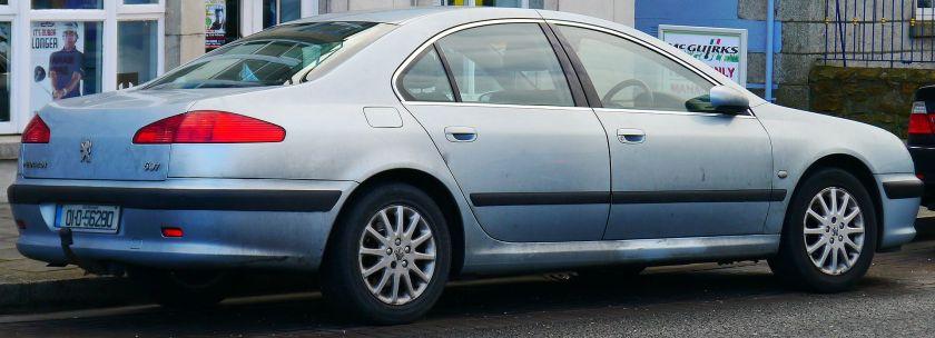 2001 Peugeot 607 SE