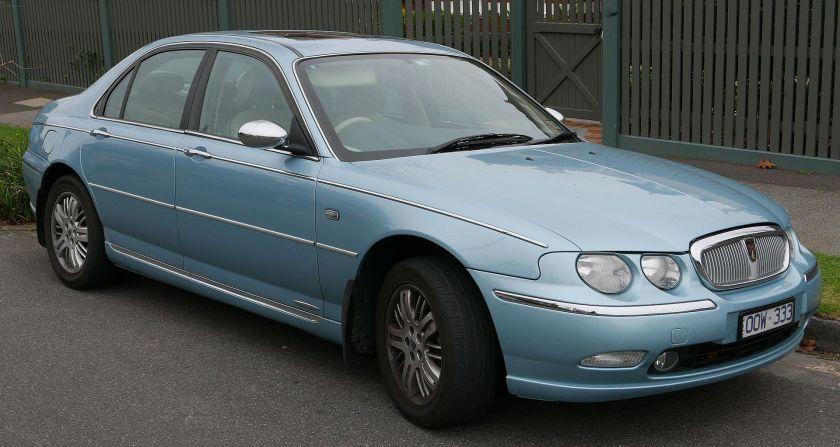 2001 Rover 75 Connoisseur sedan 01