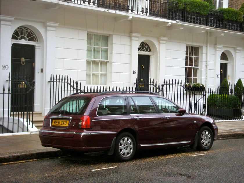 2001 Rover 75 Tourer rear