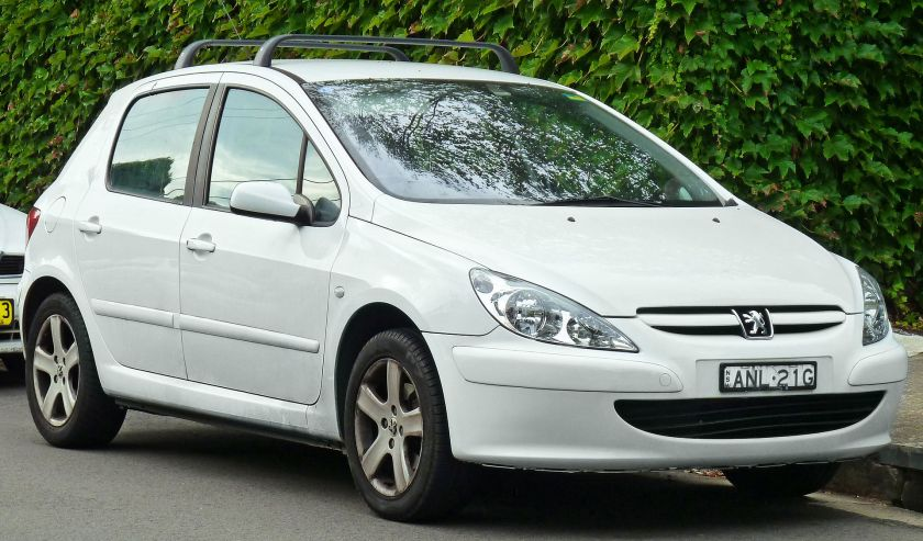 2003 Peugeot 307 (T5) 5-door hatchback