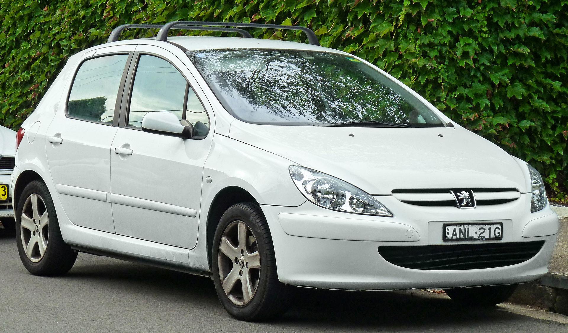 1999 U2013 Peugeot 206 2003 Peugeot 307 (T5) 5 Door Hatchback