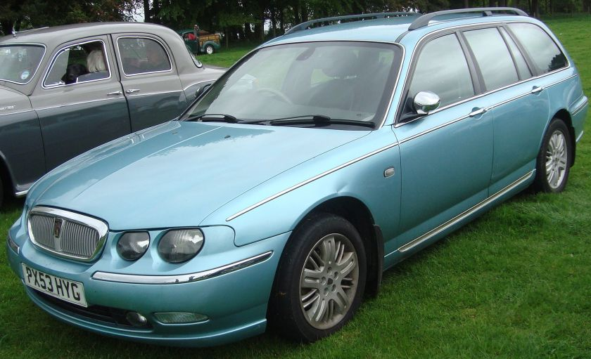 2003 Rover 75 2.0 CDTi Connoisseur SE Auto HLNAV Tourer