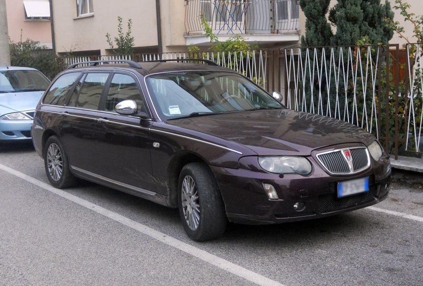 2004-05 Rover 75 Tourer facelift