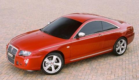 2004 Rover 75 Coupe Concept