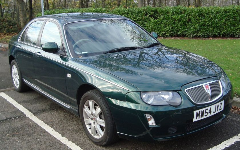 2005 Rover 75 1.8T Connoisseur facelift