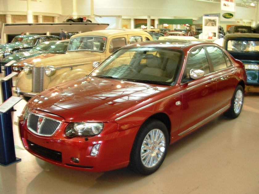 2005 The last production Rover 75 model, a CDTi Connoisseur