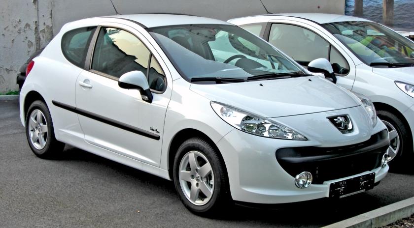 2006 Peugeot 207 3d