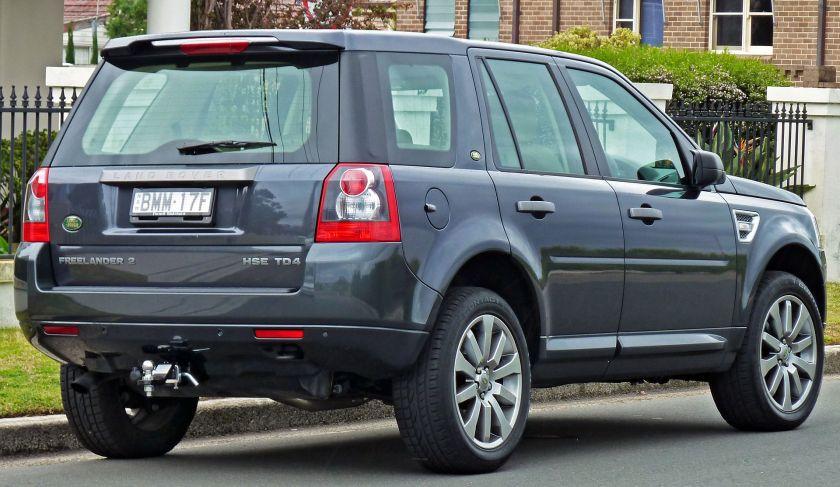 2007-10 Land Rover Freelander 2 HSE TD4 (Australia)