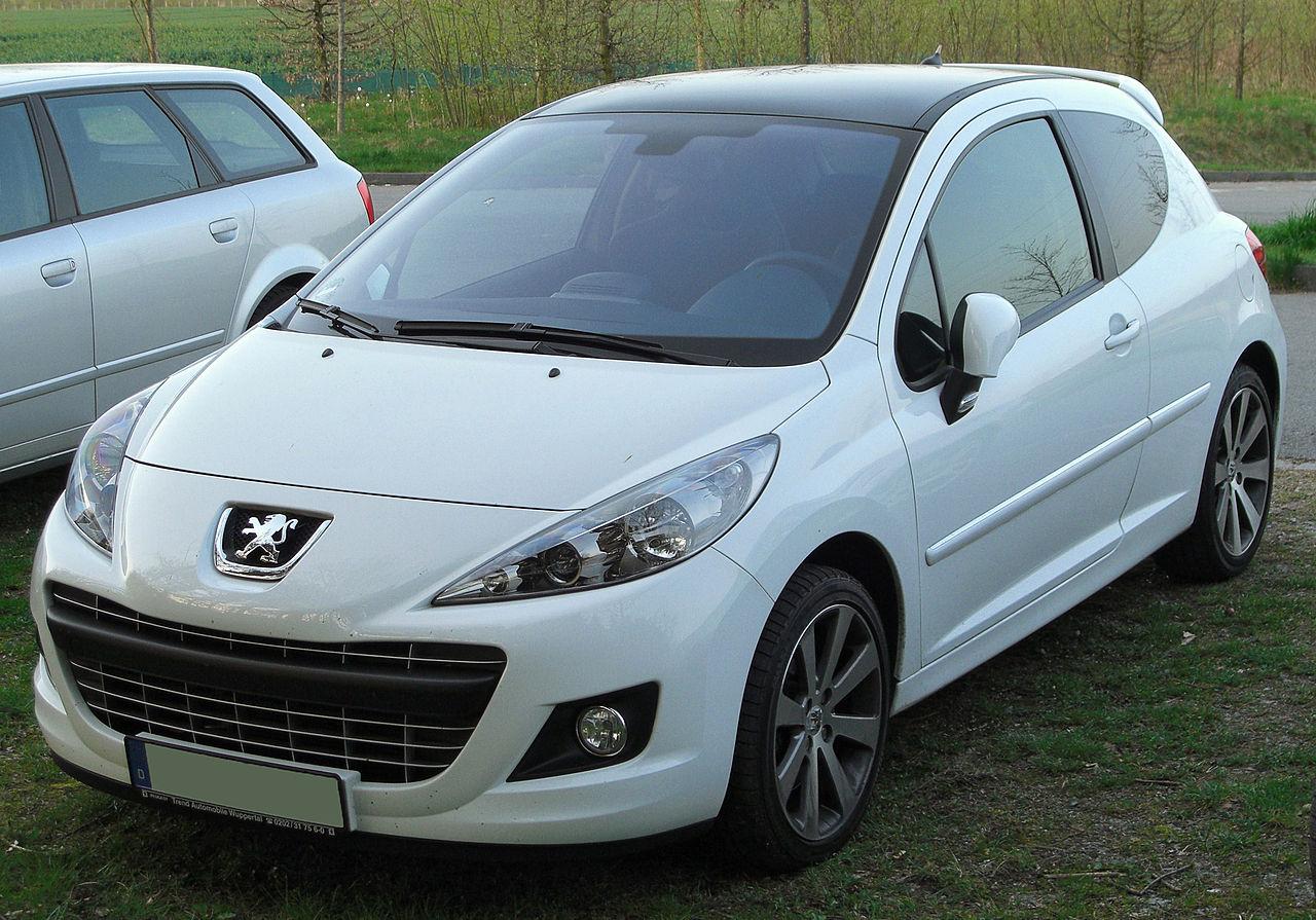 2006 U2013 Peugeot 1007 2007 Peugeot 207 RC