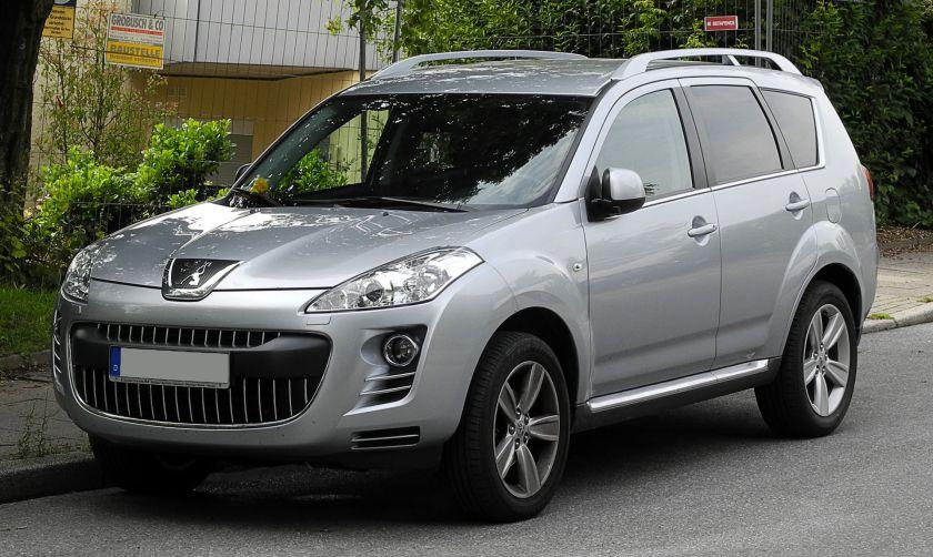 2011 Peugeot 4007 HDi FAP 155 Platinum