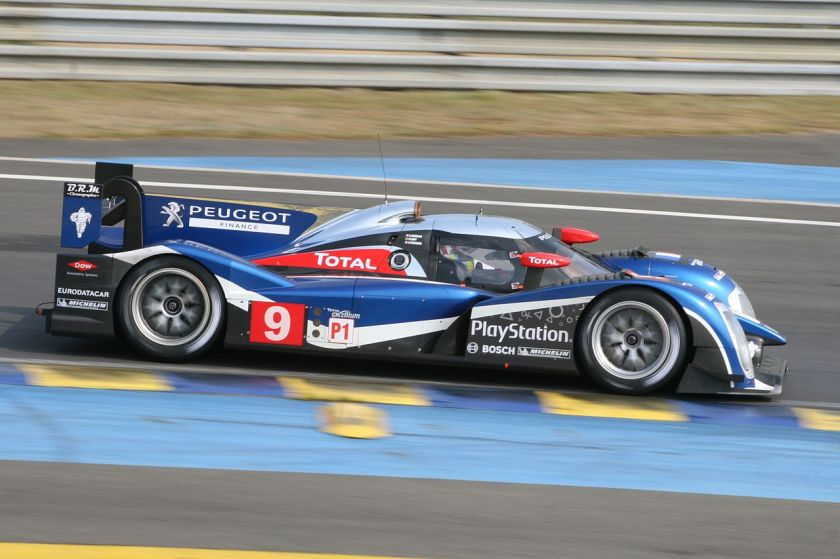 2011 Peugeot 908 at Le Mans Pretest 2011 1300cc