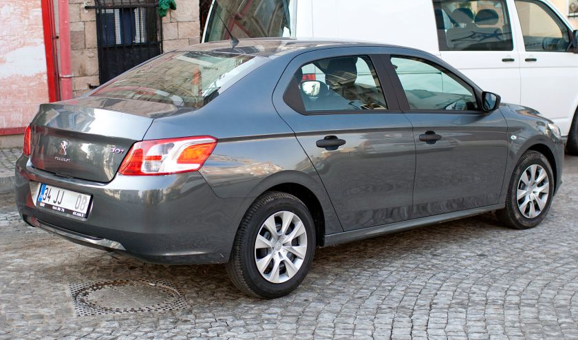 2013 Peugeot 301 sedan in Istanbul
