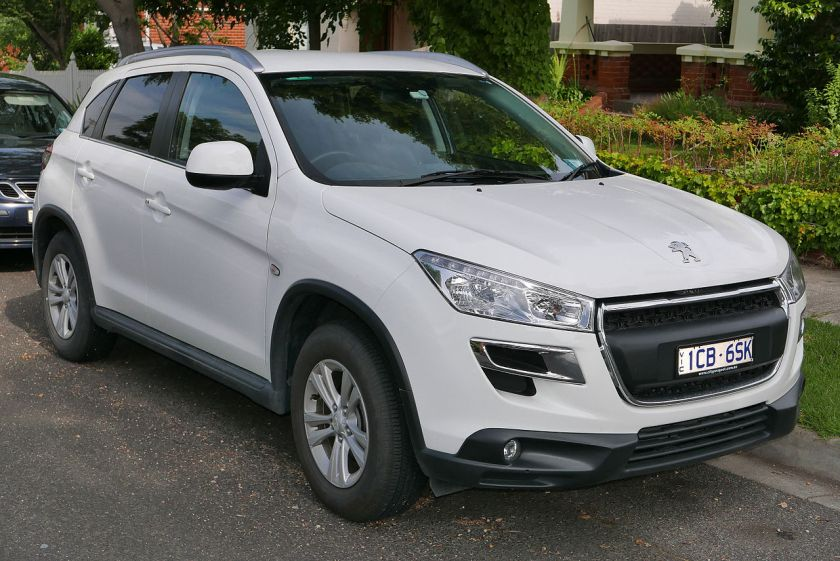 2014 Peugeot 4008 (MY14) Active wagon