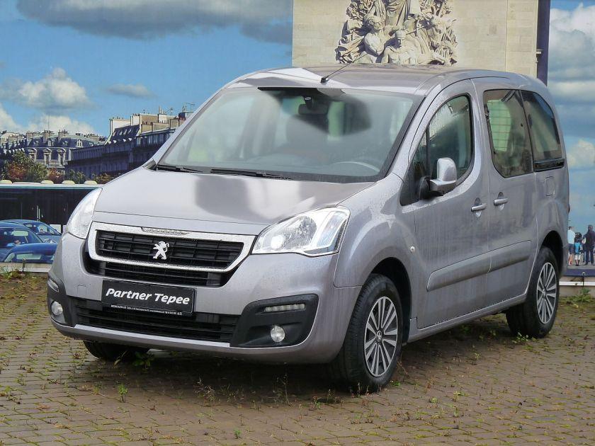 2015 Peugeot Partner