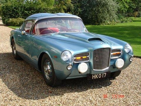 FACEL VEGA HK500 - coachwork by Carrozzeria Zagato of Milan