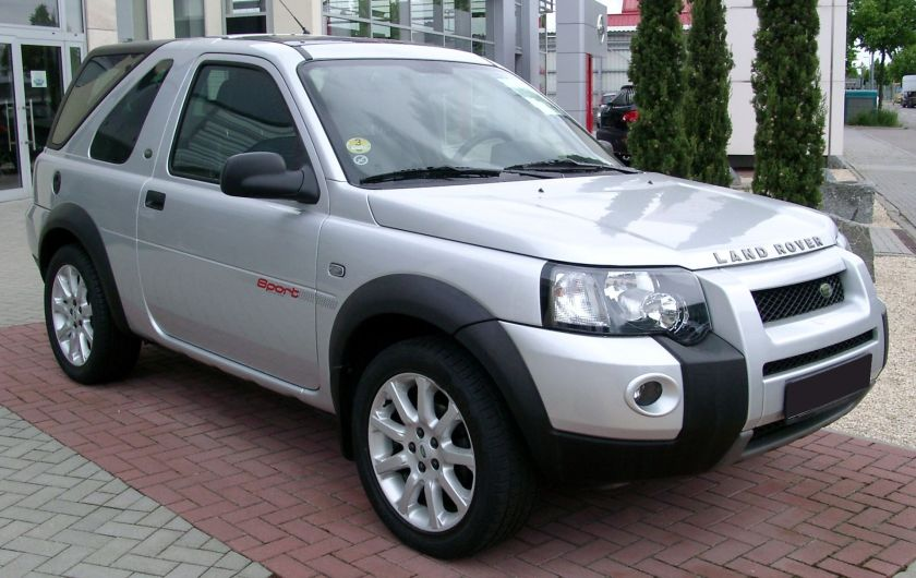 Land Rover Freelander I facelift front