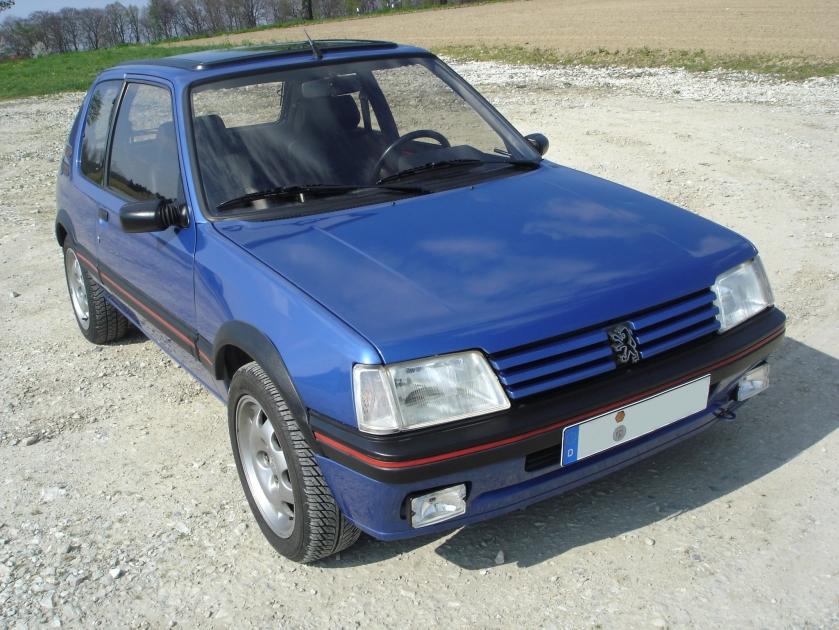 Peugeot 205 gti bl