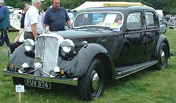 Rover 16 Sports Saloon