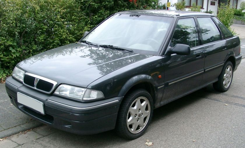 Rover 214 front