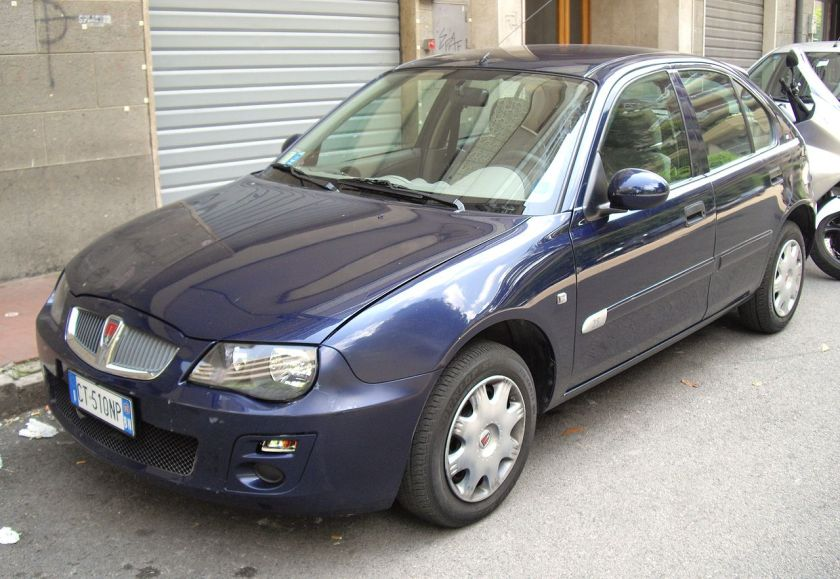 Rover 25 facelift