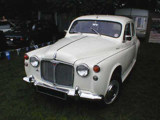 Rover P4 white