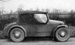 Rover Scarab, few produced