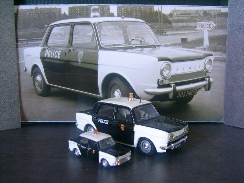 Simca 1000 Policecars