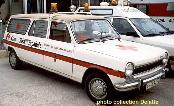 Simca 1100 Ambulance a