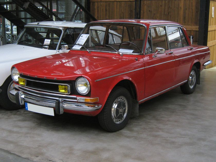 Simca 1301 Special front-view
