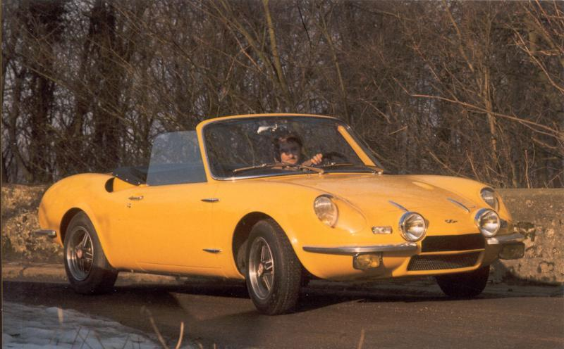 SIMCA SPIDER 1200 S ORANGE COUVERTURE LIVRE CG