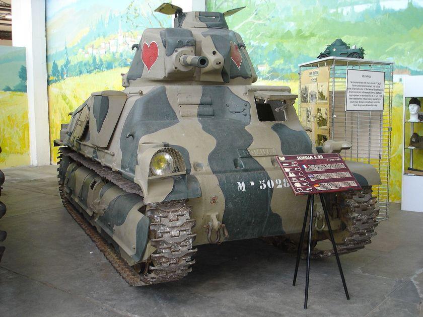 Somua S 35 (musée des blindés de Saumur)
