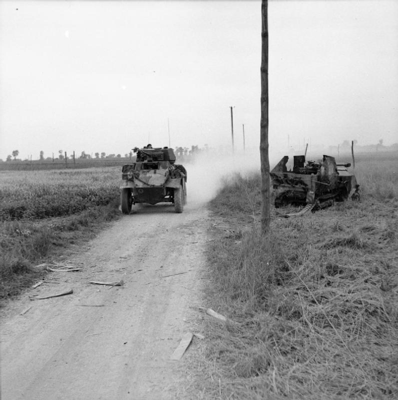 The British Army in North-west Europe 1944-45 B7685