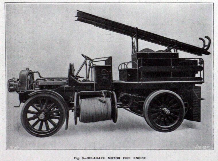 1907 Delahaye Firebrigade
