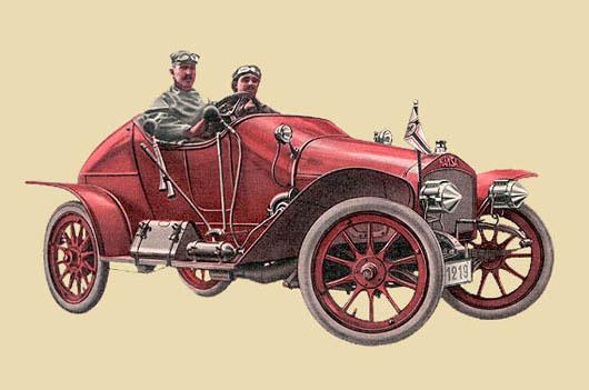 1907 Hansa 18