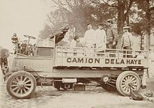 1910 Camion Delahaye 20cv en 1910