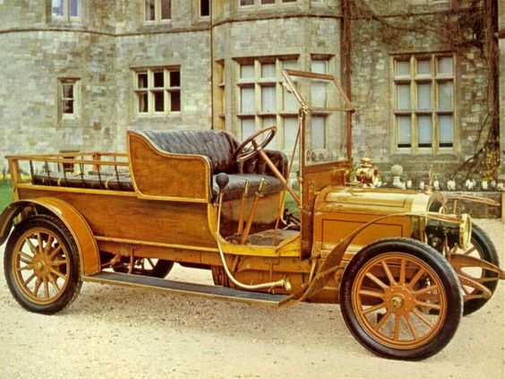 1912 Delahaye transport